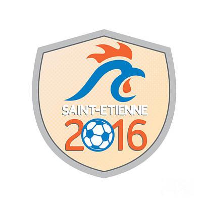 Saint Etienne 2016 Europe Championships  Art Print