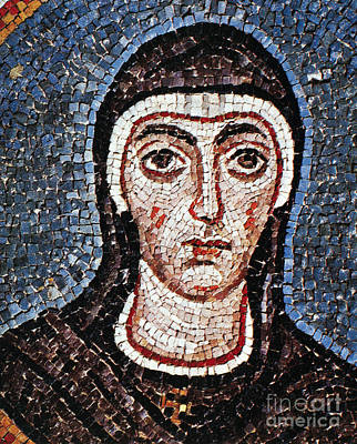 Mosaic Portrait Painting - Saint Felicity (d. 203) by Granger