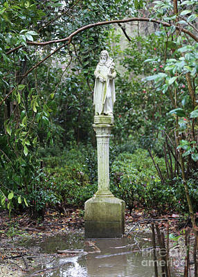 Photograph - Saint Fiacre Patron Saint Of Gardening by Carol Groenen