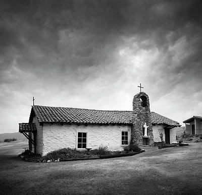 Photograph - Saint Francis Of Assisi Chapel In Warner Springs by William Dunigan