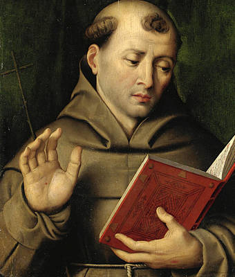 Painting - Saint Francis Of Assisi by Domenico Capriolo