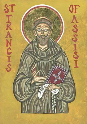 Saint Francis Of Assisi Icon Original