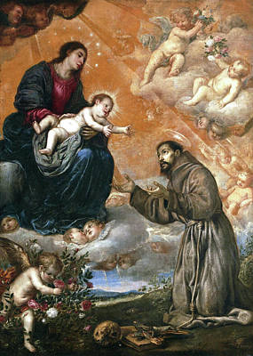 St Francis Of Assisi Paintings Fine Art America