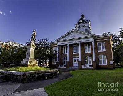 Photograph - Saint Francisville Court House by Ken Frischkorn