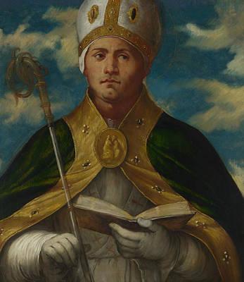 Painting - Saint Gaudioso by Treasury Classics Art