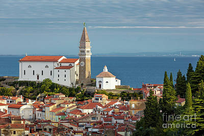 Photograph - Saint George Church Piran by Brian Jannsen