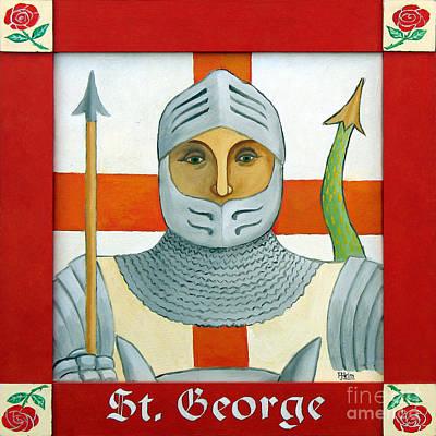 St. George Painting - Saint George by Paul Helm