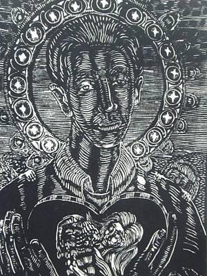 Saint Gerard Majella Original by Benjamin Varela