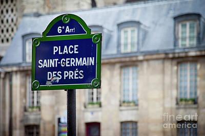 Photograph - Saint Germain Des Pres by Brian Jannsen