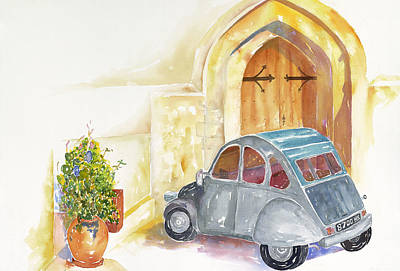 Painting - Saint Germain Sunday Morming by Tara Moorman