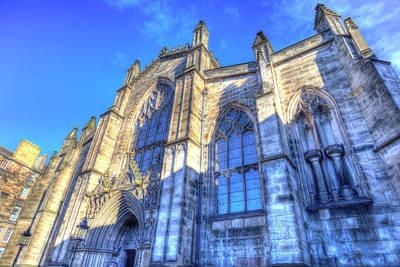 Photograph - Saint Giles Cathedral Edinburgh Scotland by David Pyatt