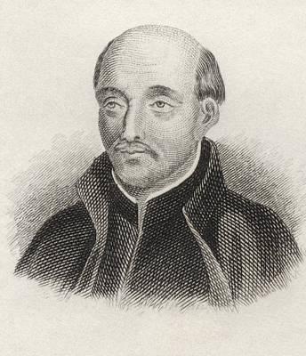 Saint Ignatius Of Loyola 1491 To 1556 Art Print