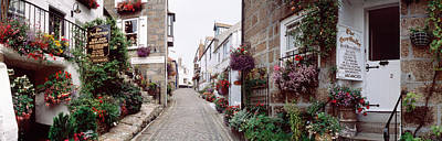 St Ives Wall Art - Photograph - Saint Ives Street Scene, Cornwall by Panoramic Images