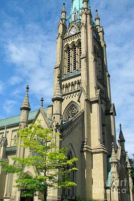 Photograph - Saint James Cathedral by Frank Townsley