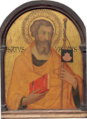 Martini Royalty-Free and Rights-Managed Images - Saint James Major by Simone Martini