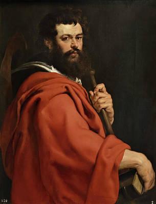 Saint Paul Painting - Saint James The Greater by Peter Paul Rubens