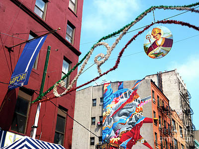 Photograph - Saint Januarius In Little Italy by John Rizzuto