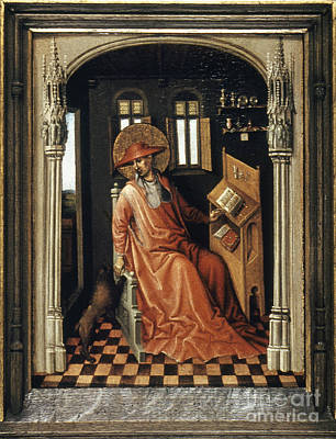 Painting - Saint Jerome (340-420) by Granger