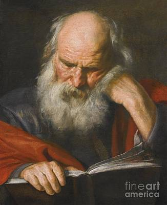 Saint Jerome Art Print