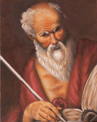 Painting - Saint Jerome by Theresa Cangelosi