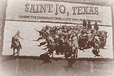 Photograph - Saint Jo Texas by Imagery by Charly