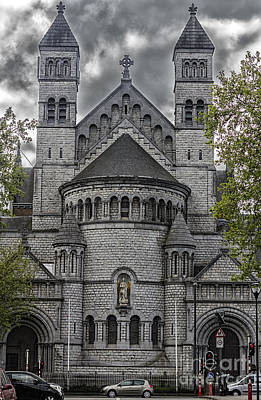 Belguim Wall Art - Photograph - Saint John Berchmans Church Brussels by Bouquet  Of arts