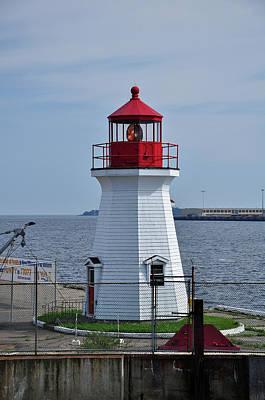 Photograph - Saint John Lighthouse by Glenn Gordon