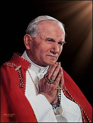 Saint John Paul II Art Print