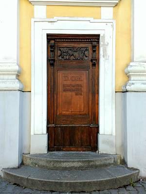 Photograph - Saint John The Baptist Church's Door by Erika H