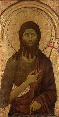 Christian Artwork Painting - Saint John The Baptist by Mountain Dreams