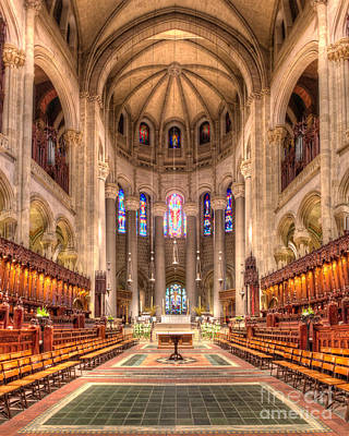 Saint John The Divine Interior Art Print by Jerry Fornarotto