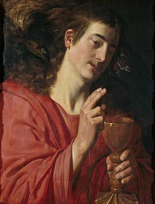 Artus Wolffort Painting - Saint John The Evangelist by Artus Wolffort