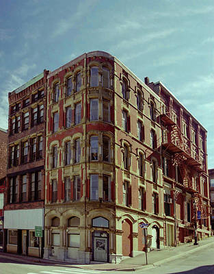 Photograph - Saint John Water Street by Steven Richman