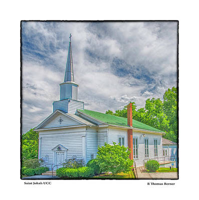 Photograph - Saint John's Ucc by R Thomas Berner