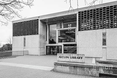 Photograph - Saint Johns University Alcuin Library by University Icons