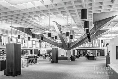 Photograph - Saint Johns University Library Interior by University Icons