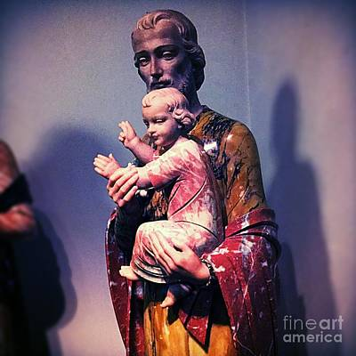Frank J Casella Royalty-Free and Rights-Managed Images - Saint Joseph - Foster Father of Jesus by Frank J Casella