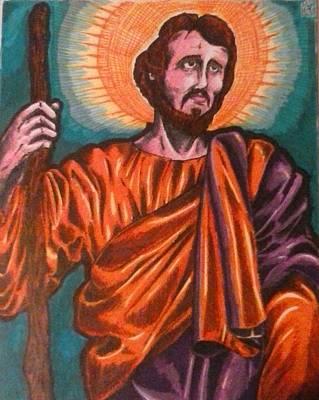 Saint Joseph Original by Michael Toth