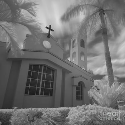Photograph - Saint Joseph's Catholic Church Bradenton 20090819 2 by Rolf Bertram