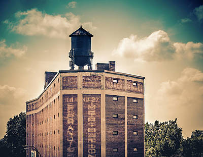 Photograph - Saint Lawrence Water Tower by Martin New