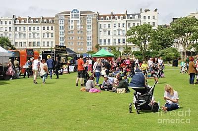 Photograph - Saint Leonards Festival In England by David Fowler