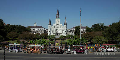 Photograph - Saint Lewis Cathedral French Quarter New Orleans, La by Ron Sadlier