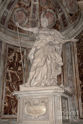 Photograph - Saint Longinus by Fabrizio Ruggeri