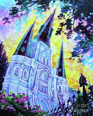 Saint Louis Cathedral Original by Kelly Boyett
