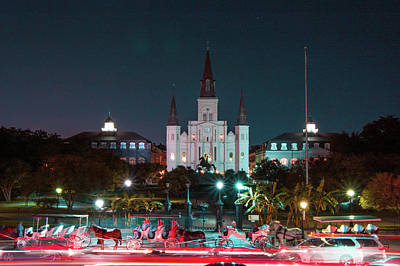 New Orleans Wall Art - Photograph - Saint Louis Cathedral by Marc Villere