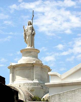 Photograph - Saint Louis Cemetery 57 by Jerry Sodorff