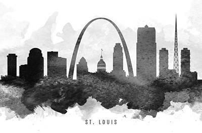 Saint Louis Cityscape 11 Art Print