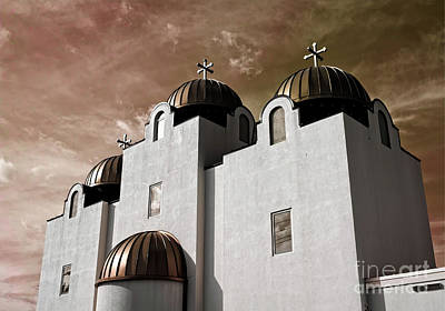 Photograph - Saint Louis Coptic Orthodox  by Luther Fine Art