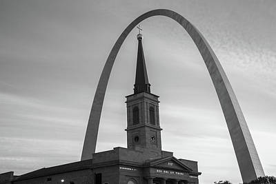 Photograph - Saint Louis Shades Of Grey by Gregory Ballos