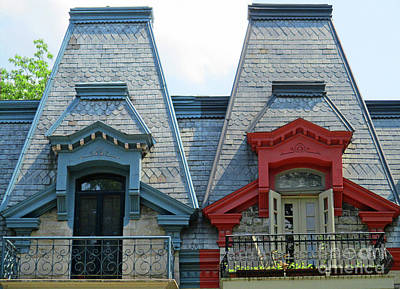 Montreal Neighborhoods Photograph - Saint Louis Square 2 by Randall Weidner
